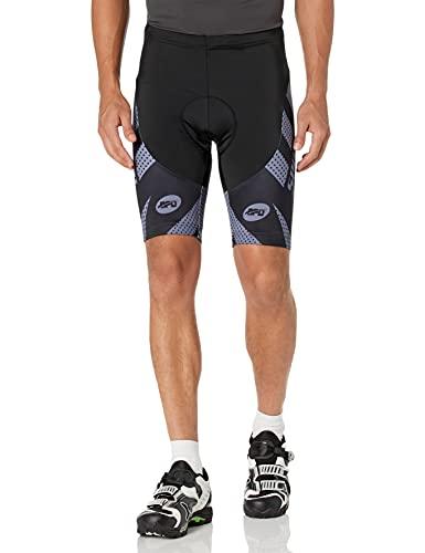 Sponeed - Pantalones cortos de ciclismo para hombre, acolchados