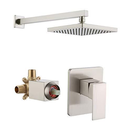 KES Shower Valve and Trim Kit Concealed Brass Shower Faucet