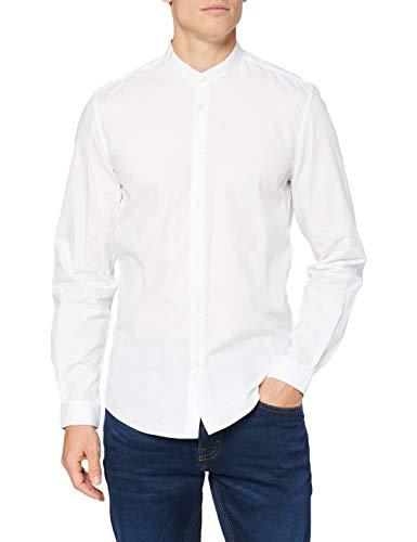 Antony Morato MMSL00631-FA400078-1000 Camicia, Bianco, 46 Uomo