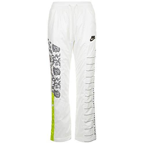 Nike Sportswear Track Woven joggingbroek dames wit/zwart, L