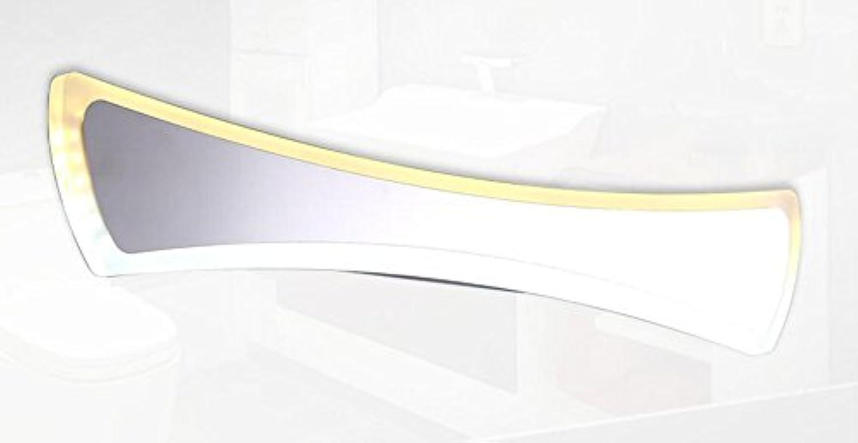 Unbekannt LED-Licht-Edelstahl-Spiegel-Licht Moderne Minimalistische Acryl-Lichter