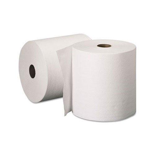 Kimberly-Clark 6 Pack White 8' X 600' Kleenex Hard Roll Towel