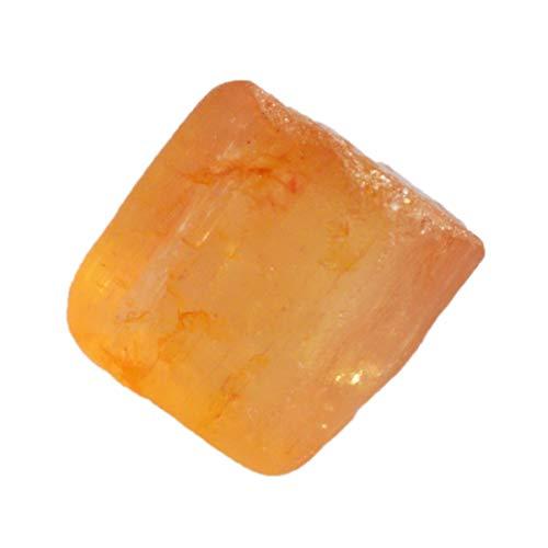 Ravishing Impressions AG-15393 - Gemma grezza brasiliana con topazio imperiale naturale, dimensioni 10 x 9 x 7 mm, esemplari di cristallo minerali, pietra per anelli, miglior prezzo, AG-15393