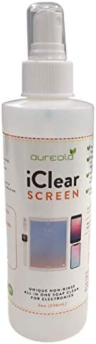 LCD screen cleaner soap spray for TV phones laptop electronics Streak free and Non rinse 8oz product image