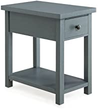 Better Homes and Gardens Oxford Square End Table, (BLUE)