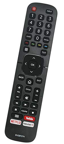 ALLIMITY EN2BF27H T232949 Telecomando Sostituisci per Hisense LCD LED TV H65AE6030 H50AE6030 H32A5840 H65A6140 H50A6140 H50B7500 H43AE6030