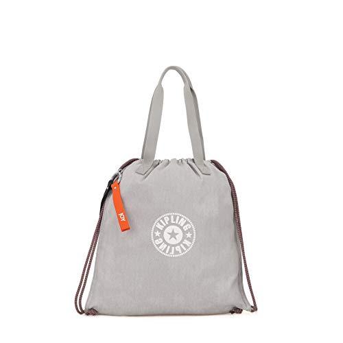 Kipling Women's Nylon Lightweight Tote Bag -Hip Hurray (Light Denim)