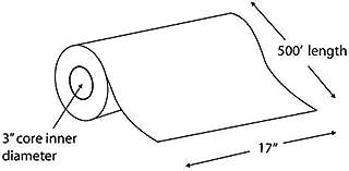 "Alliance Paper Rolls, Bond Engineering, 17"" x 500', 92 Bright, 20lb - 4 Rolls Per Carton with 3"" Core"