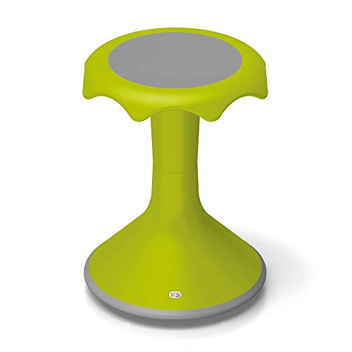 VS America Hokki Stool Flexible Ergonomic Seating - 18' Light Green