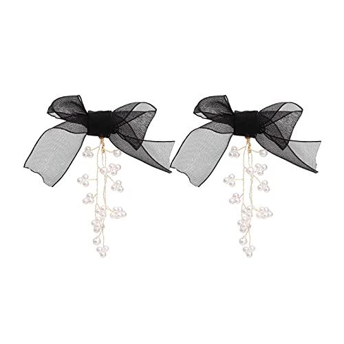 Pendientes de perlas con arcos