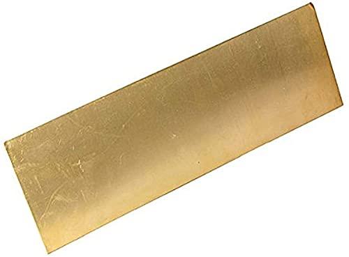 brass metal raw materials SoGuDio Metal Copper foil Brass Sheet Percision Metals Raw Materials Brass Plate Brass Plate (Size : 4x100x100mm)