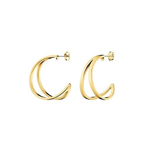 Calvin Klein Damen-Ohrstecker Edelstahl KJ6VJE100100