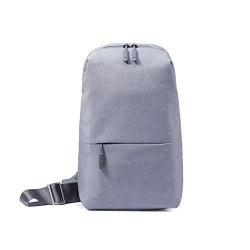 Xiaomi ボディバッグ Mi City Sling Bag (ライトグレー)