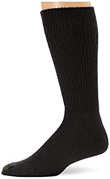 Gold Toe Men s Fluffies Crew Socks Multipairs Navy  3-Pairs  Large