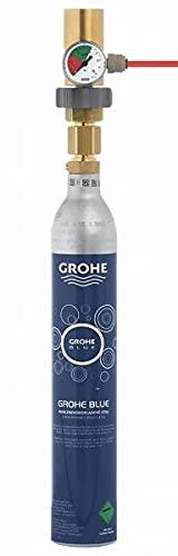 GROHE Blue Accessories 40962000 - Adaptador para botella de CO2 de 425 g para Grohe Blue Professional, color dorado