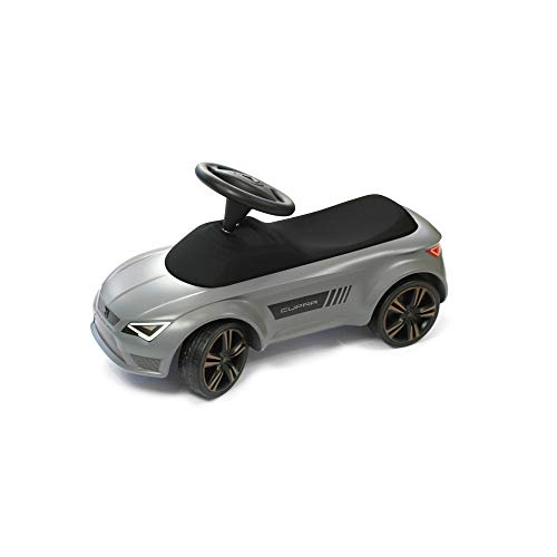 Seat 6H1087500IAF Kinderauto Bobby Car Cupra Kinderfahrzeug Rutscher, Graphitgrau/Kupfer