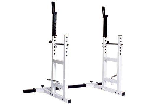 York Barbell 4232 Pro Series 204 Squat Rack Bench Press-No Bench