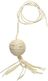 Catit Eco Terra Natural Cornhusk and Raffia Cat Toy, Ball with String