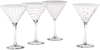 Mikasa Cheers Martini Glass, 10-Ounce, Set of 4 - SW910-417
