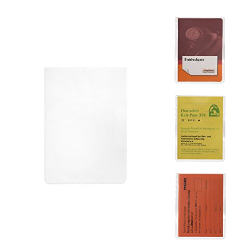 Ausweishülle und Schutzhülle DIN A7 für Blutdruckpass - Deutscher Reit-Pass - Antikoagulation