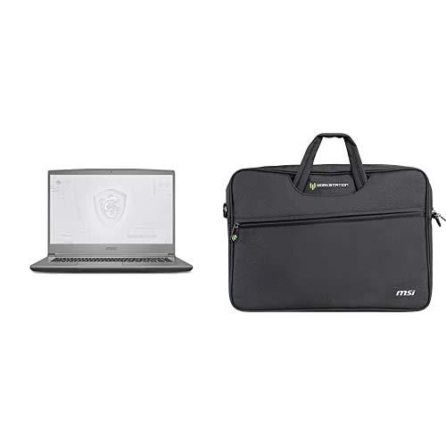 Bolsa para Laptop + MSI WF65 10TJ-467ES - Ordenador portátil de 15.6