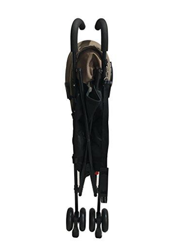 エンドーCOOLKIDSCKバギーBKシリーズブラック×ブラウンバギーアルミ軽量