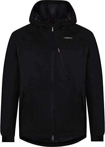 Madison Roam Mens Waterproof Cycling Jacket - Black, Medium/Mountain Bike MTB Water Rain Resistant Hood Coat Hooded Enduro Trail Winter Commute Clothing Wind Wet Weather Repellent Cycle Ride Wear