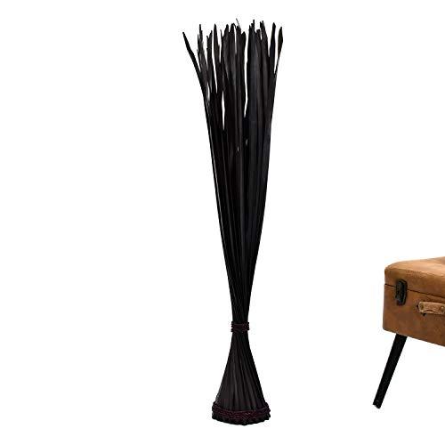 Leewadee Ramo de Flores secas para el Suelo – Rama Gruesa autoportante, Ramos Decorativos para adornar viviendas y recepciones, 120 cm, Negro