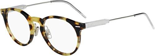Dior BLACKTIE236 45Z 50 Gafas de sol, Plateado (Havana Silver), Hombre