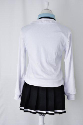 『黒子のバスケ 桃井 さつき 帝光中学 制服 (青シャツ) コスプレ 衣装 Mサイズ 【c45M】』の2枚目の画像