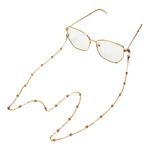Ulyjcq Cadena de Gafas de Perlas Que cuelga de la Defensa del...