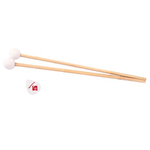1 Paio Di Stick In Legno Di Xilofono Per Glockenspiel Per Accessori A Percussione