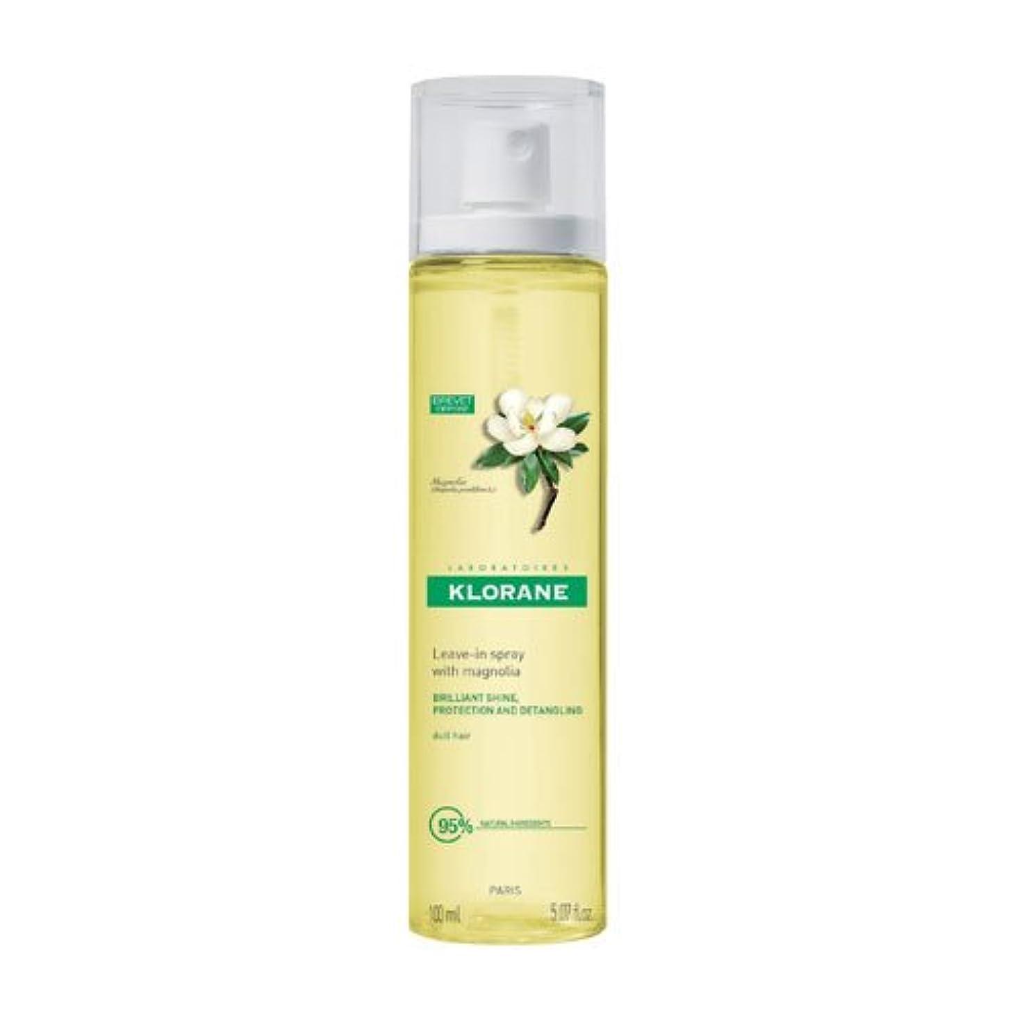 再生アーティファクト解明Klorane Magnolia Wax Water Gloss 100ml [並行輸入品]