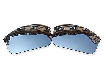 Vonxyz Lenses Replacement for Oakley WireTap Sunglass - Chrome MirrorCoat Polarized