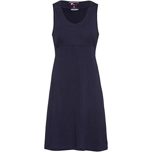 Craghoopers Damen Dress Nl Kleid Sienna, Marineblau, 10