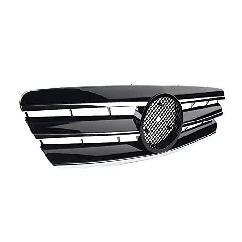 linlinDM Accesorios para El Cuerpo Parrillas De Radiador para Mercedes-Benz Clase C W203 C280 C320 C240 C200 C63 2000 2001 2002 2002 2003 2004 2005 2006 Parrilla Delantera De Coche Parrilla De