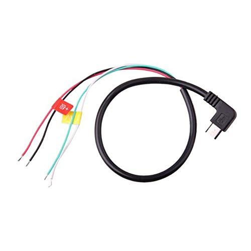 Newgreenca SJCAM Original-Zubehör Mikro-USB zum AV FPV-Ausgangskabel für SJ4000 Kamera
