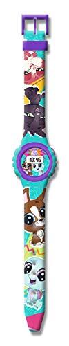 Little Pet Shop Mixte Enfant Digital Montre avec Bracelet en Aucun KD-LPS17012