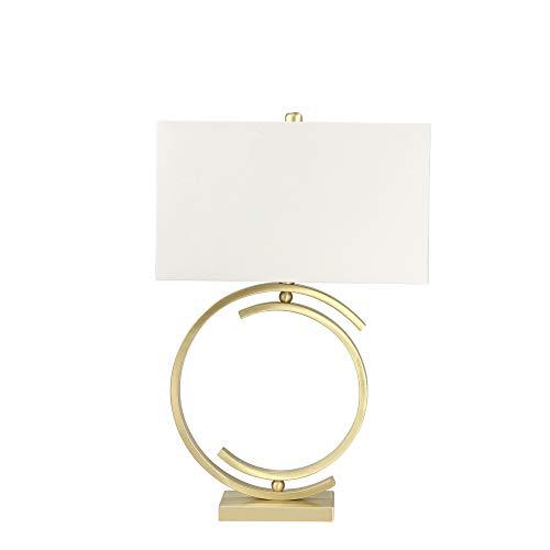 Sagebrook Home 50194-02 Lámpara de mesa de metal CC, cepillo, 73,66 cm, color dorado