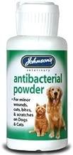 (2 Pack) Johnson's Vet - Anti-Bacterial Powder Dog/Cat 20g