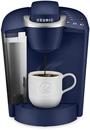 Keurig K Classic Coffee Maker Single Serve K Cup Pod Coffee Brewer 6 to 10 oz Brew Sizes Blue product image