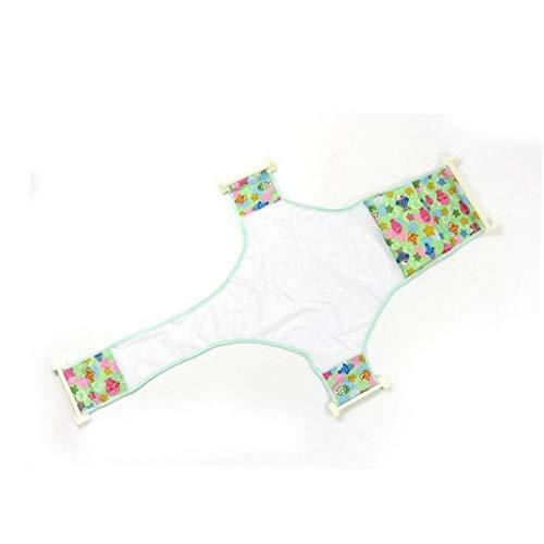 BYFRI Baby Bad Net Kruisvormig Mesh Bad Bed Bad Baddouche Hangmat Veiligheidsstoel Ondersteuning Sling Baby Zorg Verstelbaar (Random)