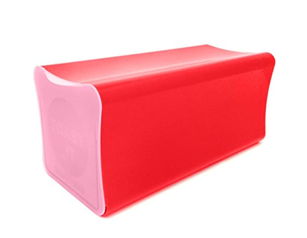 Outlook Design Toast IT Bread Holder, Bread Box, red