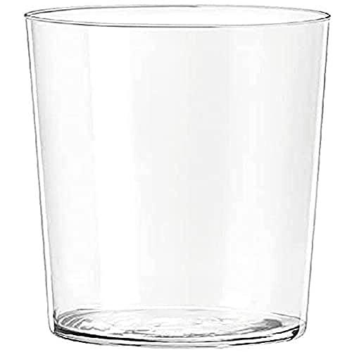 H&H Starck Vaso por Agua, 350 CC, Vidrio, Transparente, 6 Piezas