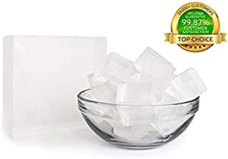 100% ORGANIC ULTRA CLEAR TRANSPARENT GLYCERIN Soap Base by Velona | Melt & Pour all Natural Bar For The Best Result | Size: 5 lb