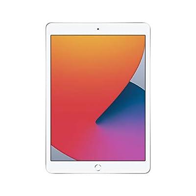 New Apple iPad (10.2-inch, Wi-Fi, 128GB) - Silver (Latest Model, 8th Generation)