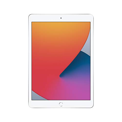 2020 Apple iPad (10.2-inch, Wi-Fi, 128GB) - Silver (8th Generation)