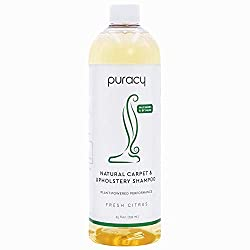 Puracy Natural Concentrated Carpet Shampoo-25 Ounce Bottle Review