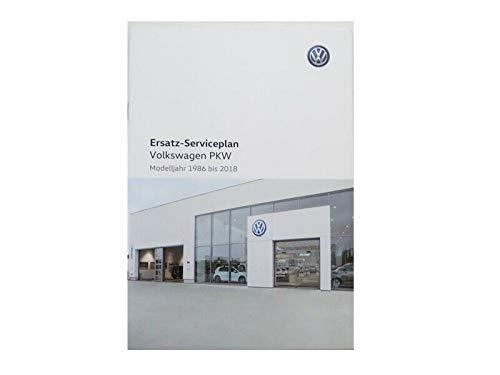 Volkswagen Original VW Serviceplan Serviceheft Scheckheft für PKW