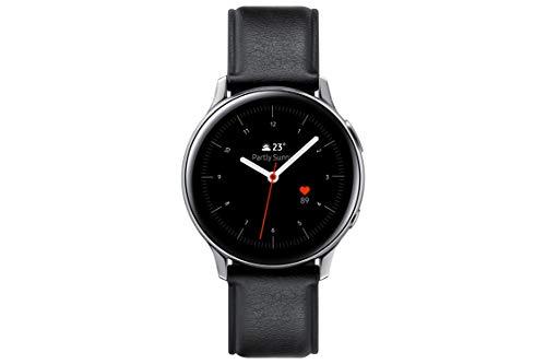 SAMSUNG SM-R820NSSAPHE Galaxy Watch Active 2 - Smartwatch de Acero, 44mm, color Plata, Bluetooth [Versión española]